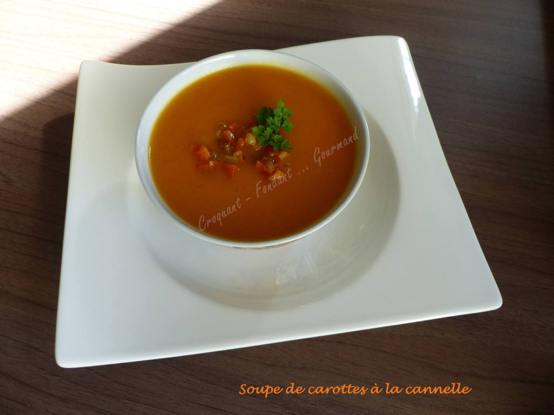 Soupe de carottes à la cannelle P1010640