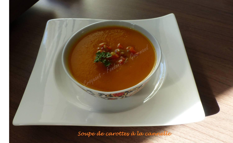 Soupe de carottes à la cannelle P1010642