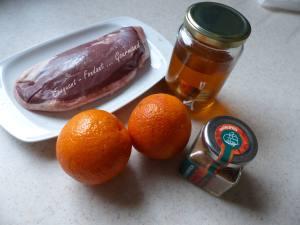 Magret de canard à l'orange P1020625