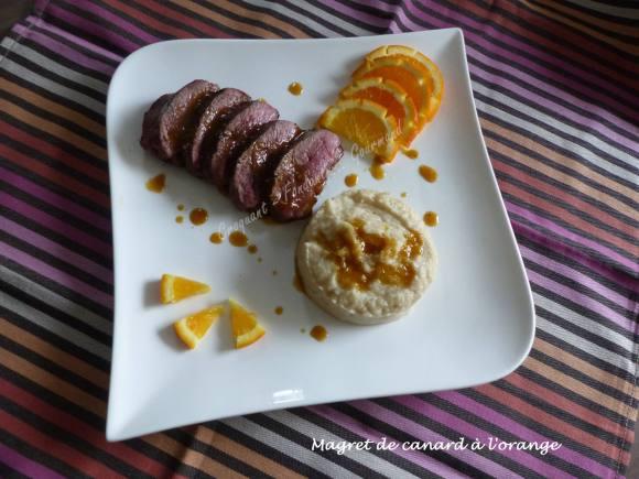 Magret de canard à l'orange P1020634