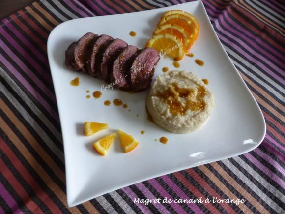 Magret de canard à l'orange P1020636