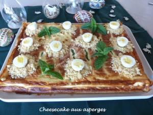 Cheesecake aux asperges P1020967