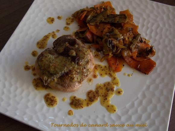 Tournedos de canard sauce au miel DSCN4321