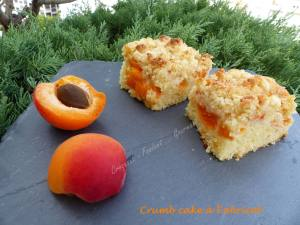 Crumb cake à l'abricot P1040134