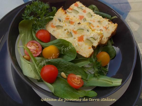 Gâteau de pommes de terre italienDSCN4757