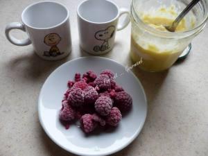 Mugcake crumble framboise-citron P1040068