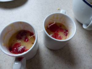 Mugcake crumble framboise-citron P1040074