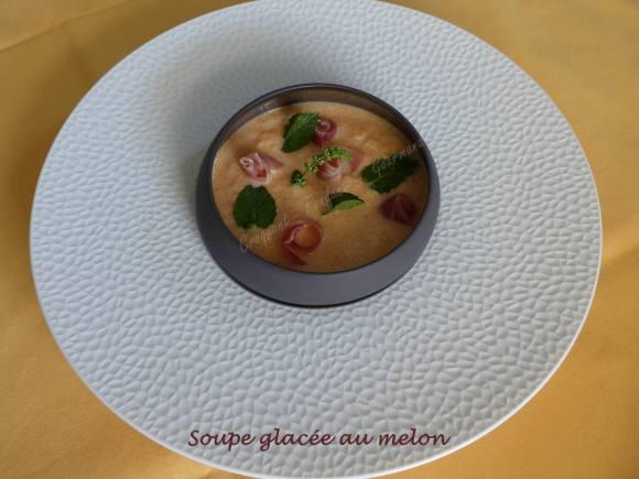 Soupe glacée au melon P1040427