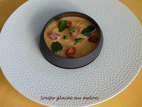 Soupe glacée au melon P1040430