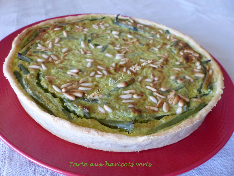 Tarte aux haricots verts P1040469