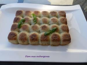 Flan aux aubergines P1040942