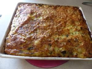 Gratin courgettes-pommes de terre-ricotta P1040626