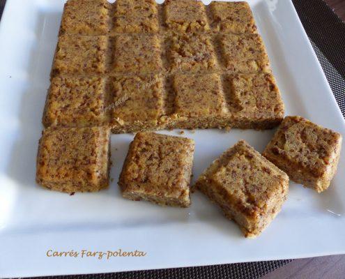 Carrés Farz-polenta P1050542