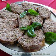 Pain de viande ou polpettone italien P1060288 R