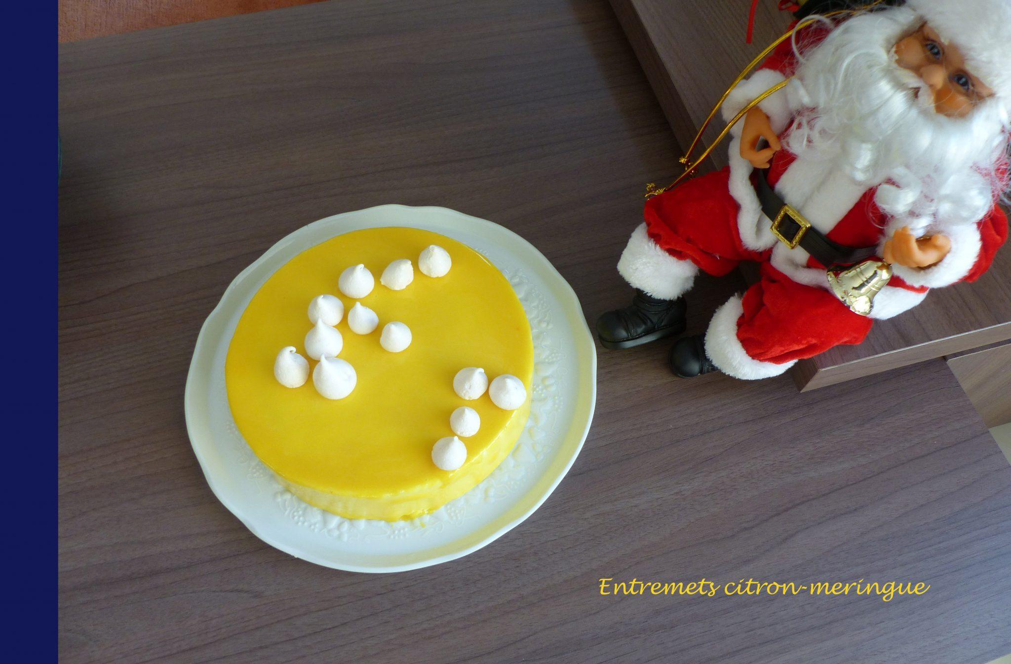 Entremets Citron Meringue Croquant Fondant Gourmand