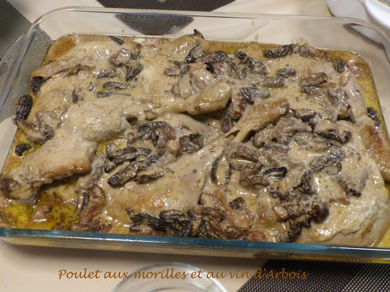 Poulet aux morilles et au vin d'Arbois P1070581 R