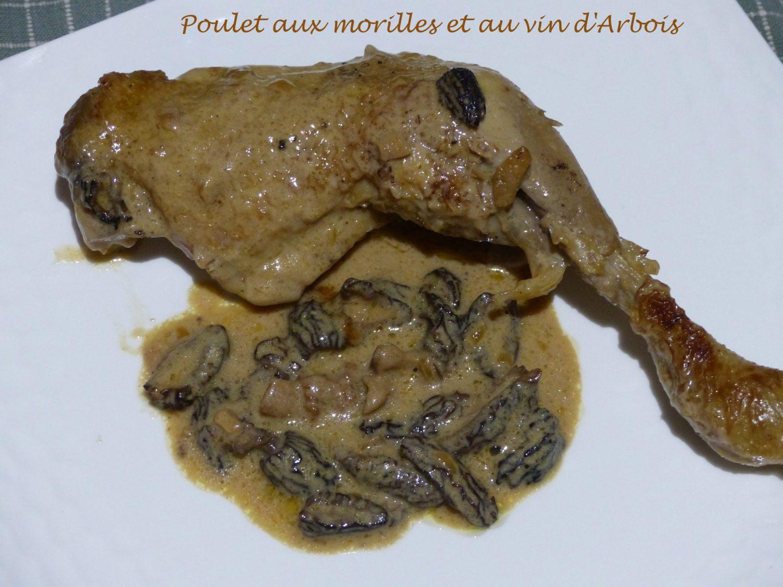 Poulet aux morilles et au vin d'Arbois P1070582 R