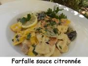 Farfalle sauce citronnée Index DSCN8759