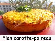 Flan carotte-poireau Index DSCN0957