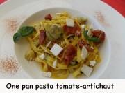 One pan pasta tomate-artichaut Index DSCN8447