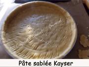 Pâte sablée Kayser Index DSCN8956