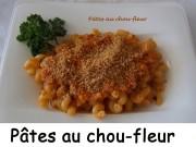 Pâtes au chou-fleur Index DSCN0216