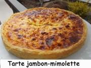 Tarte jambon- mimolette Index DSCN9830