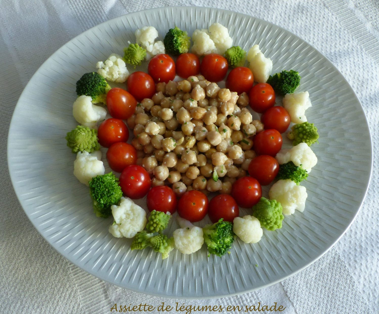 Assiette de légumes en salade P1080422 R