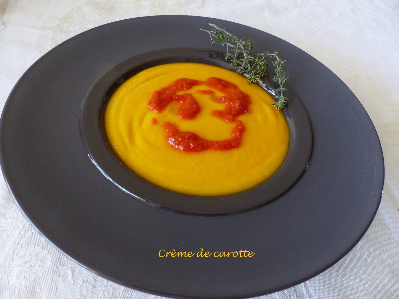 Crème de carotte au Thermomix P1080198 R