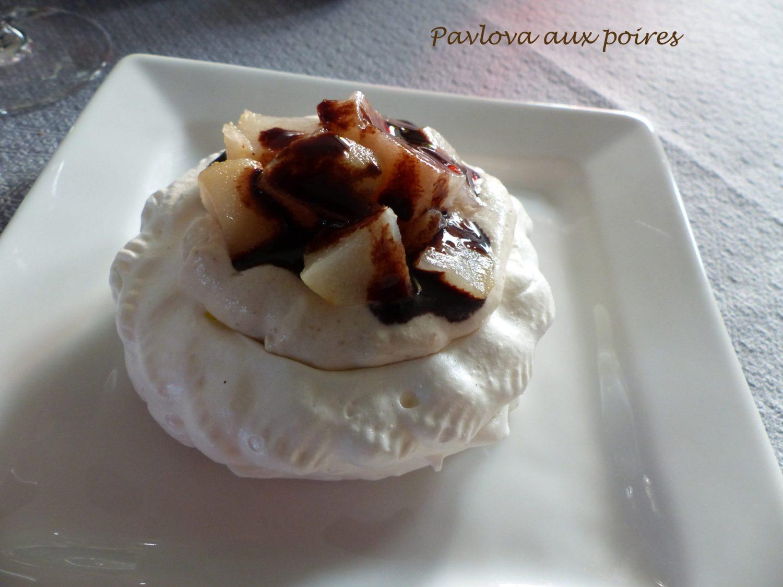 Pavlova aux poires P1070717 R