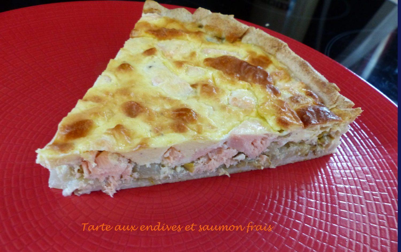 Tarte aux endives et saumon frais P1080254 R