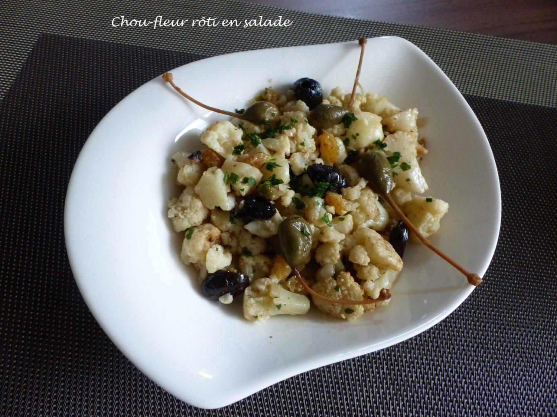 Chou-fleur rôti en salade P1070835 R