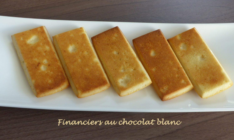 Financiers au chocolat blanc P1090250 R