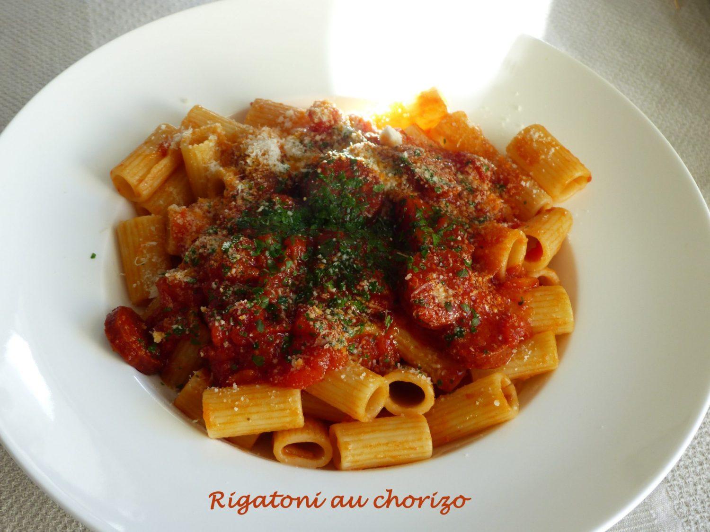 Rigatoni au chorizo P1090288 R