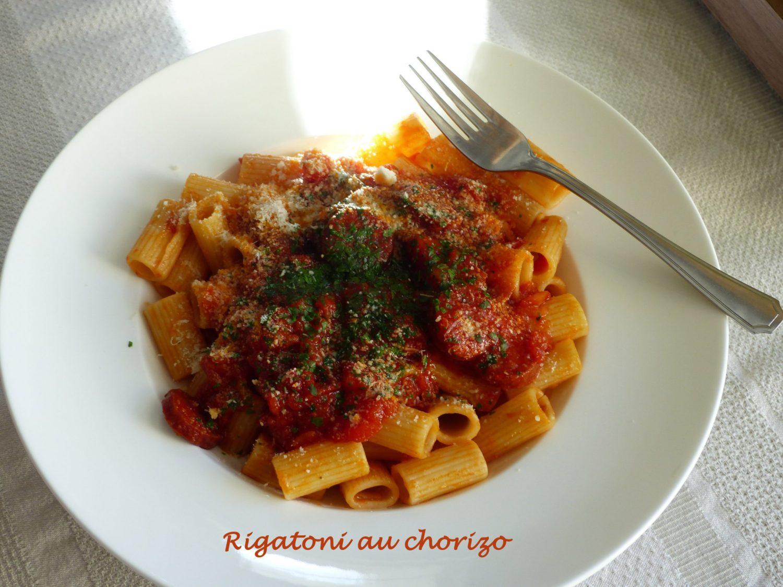 Rigatoni au chorizo P1090289 R