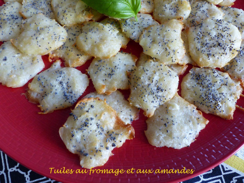 Tuiles au fromage et aux amandes P1090580 R