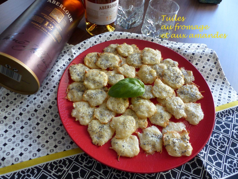 Tuiles au fromage et aux amandes P1090585 R