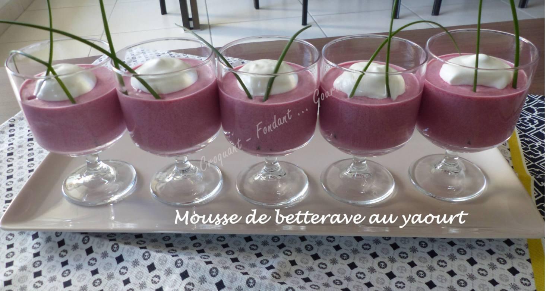 Mousse de betterave au yaourt P1020653