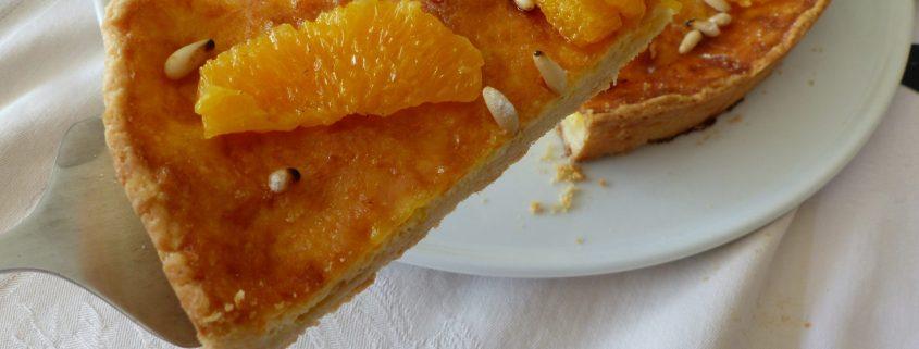 Tarte à l'orange du Sud de l'Italie P1100228 R