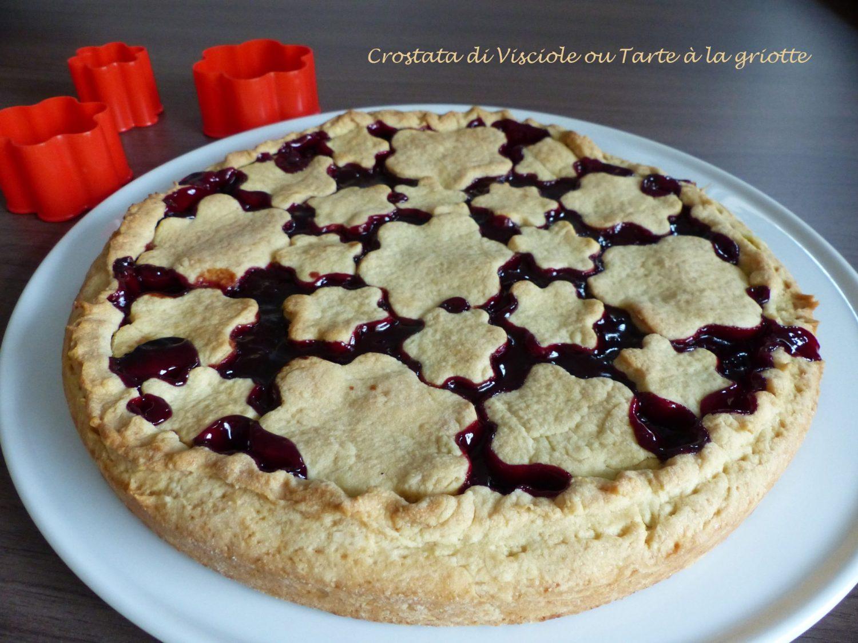 Crostata di Visciole ou Tarte à la griotte P1100560 R