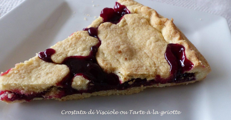 Crostata di Visciole ou Tarte à la griotte P1100575 R