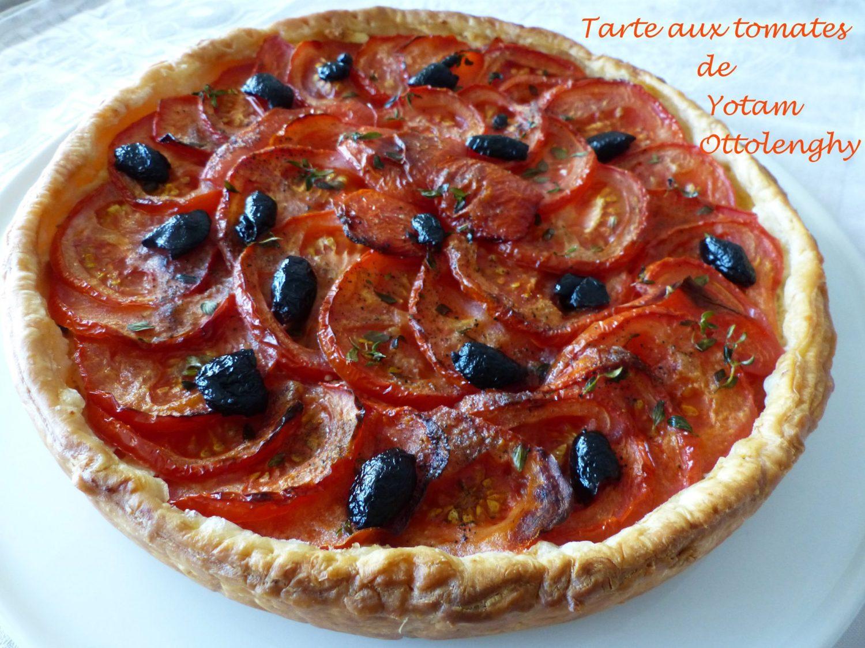 Tarte aux tomates de Yotam Ottolenghy P1110539 R