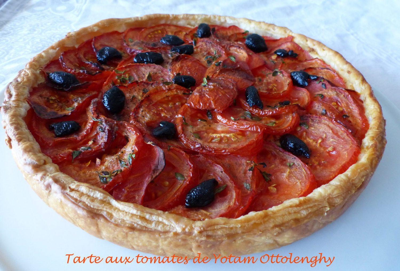 Tarte aux tomates de Yotam Ottolenghy P1110543 R