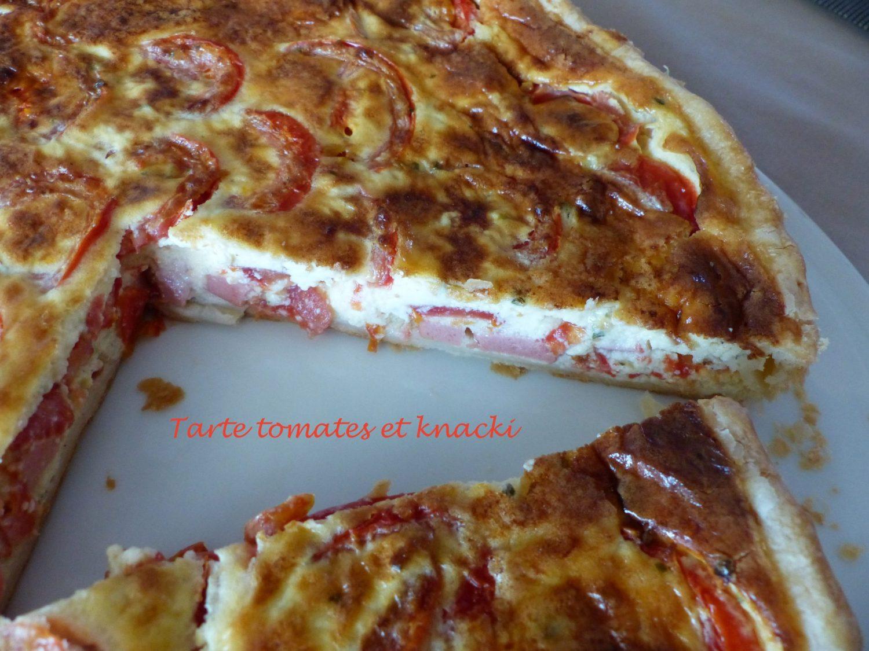 Tarte tomates et knacki P1120208 R