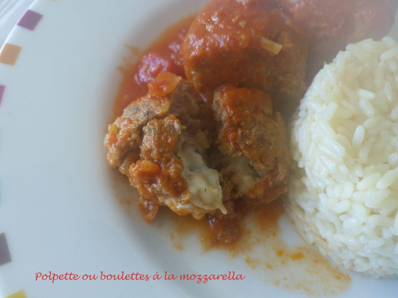 Polpette ou boulettes à la mozzarella P1050572