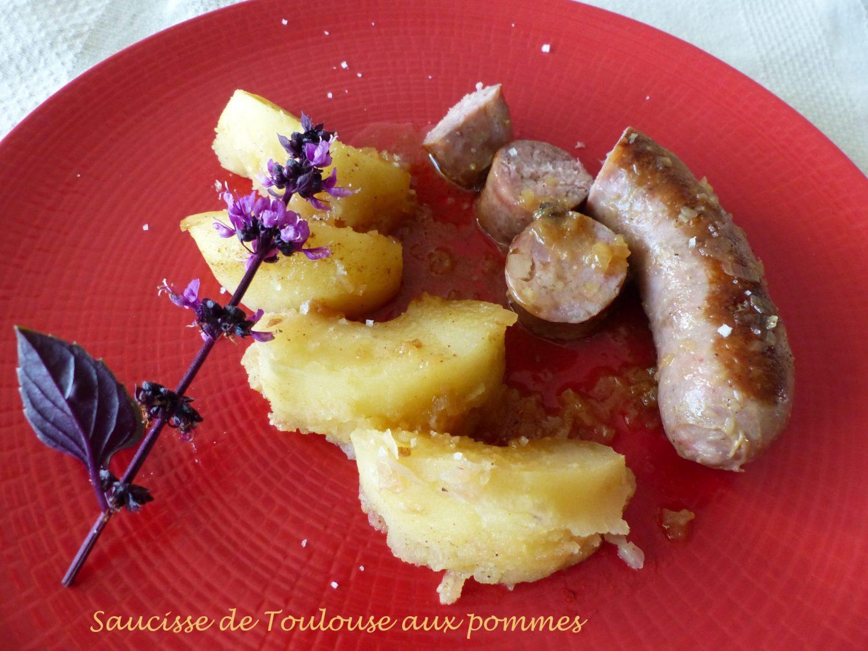 Saucisse de Toulouse aux pommes Retouche P1050651