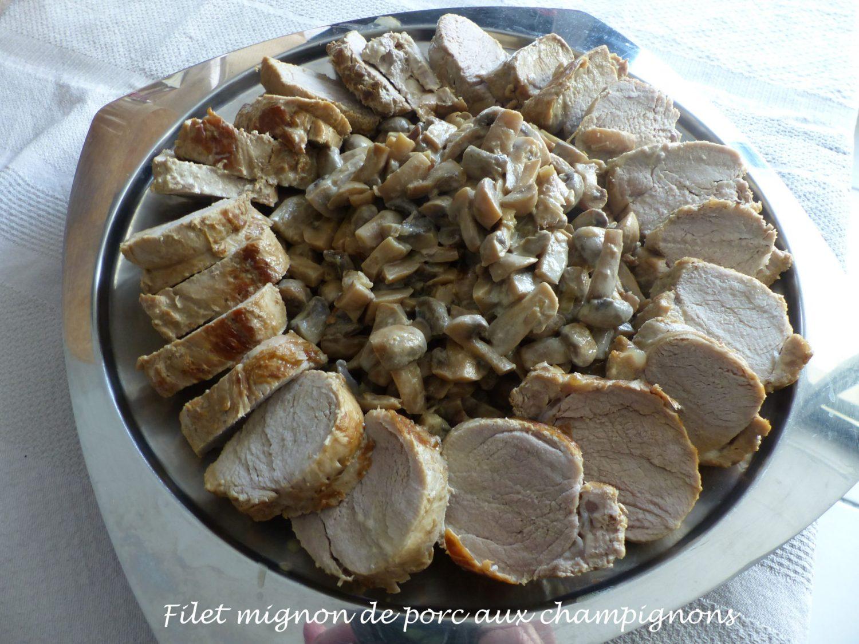 Filet mignon de porc aux champignons P1130603 R