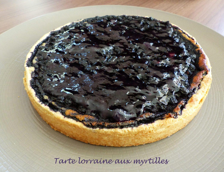 Tarte lorraine aux myrtilles P1130276 R