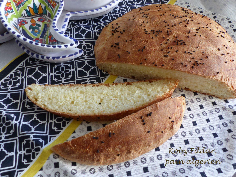 Kobz Eddar, pain algérien au Thermomix P1130243 R
