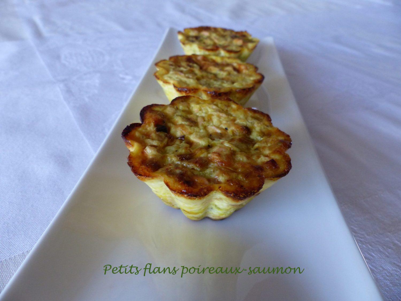 Petits flans poireaux-saumon P1060926 R